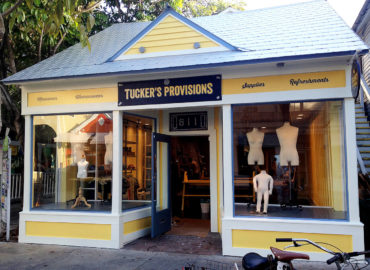 Tucker's Provisions renovated storefront